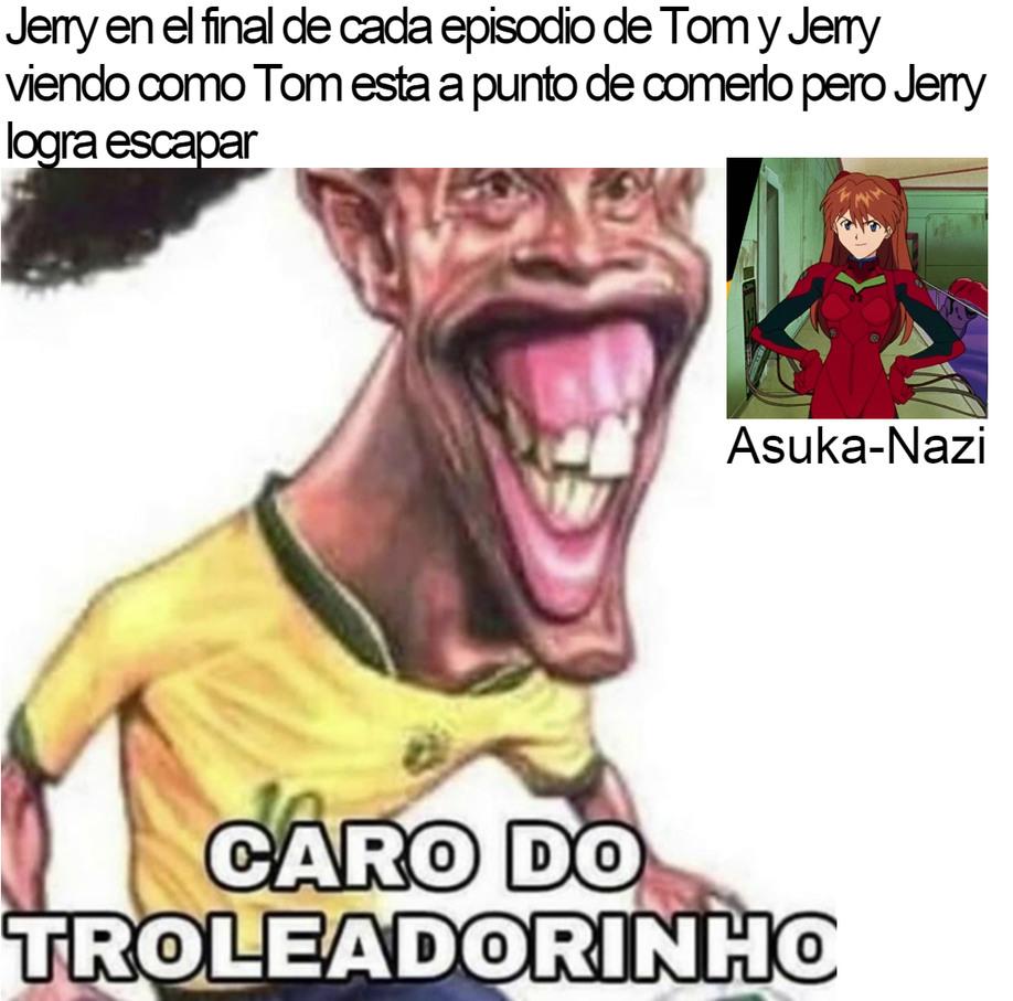 CARO DO TROLEADORINHO - meme