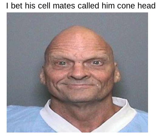 Cone Head - meme