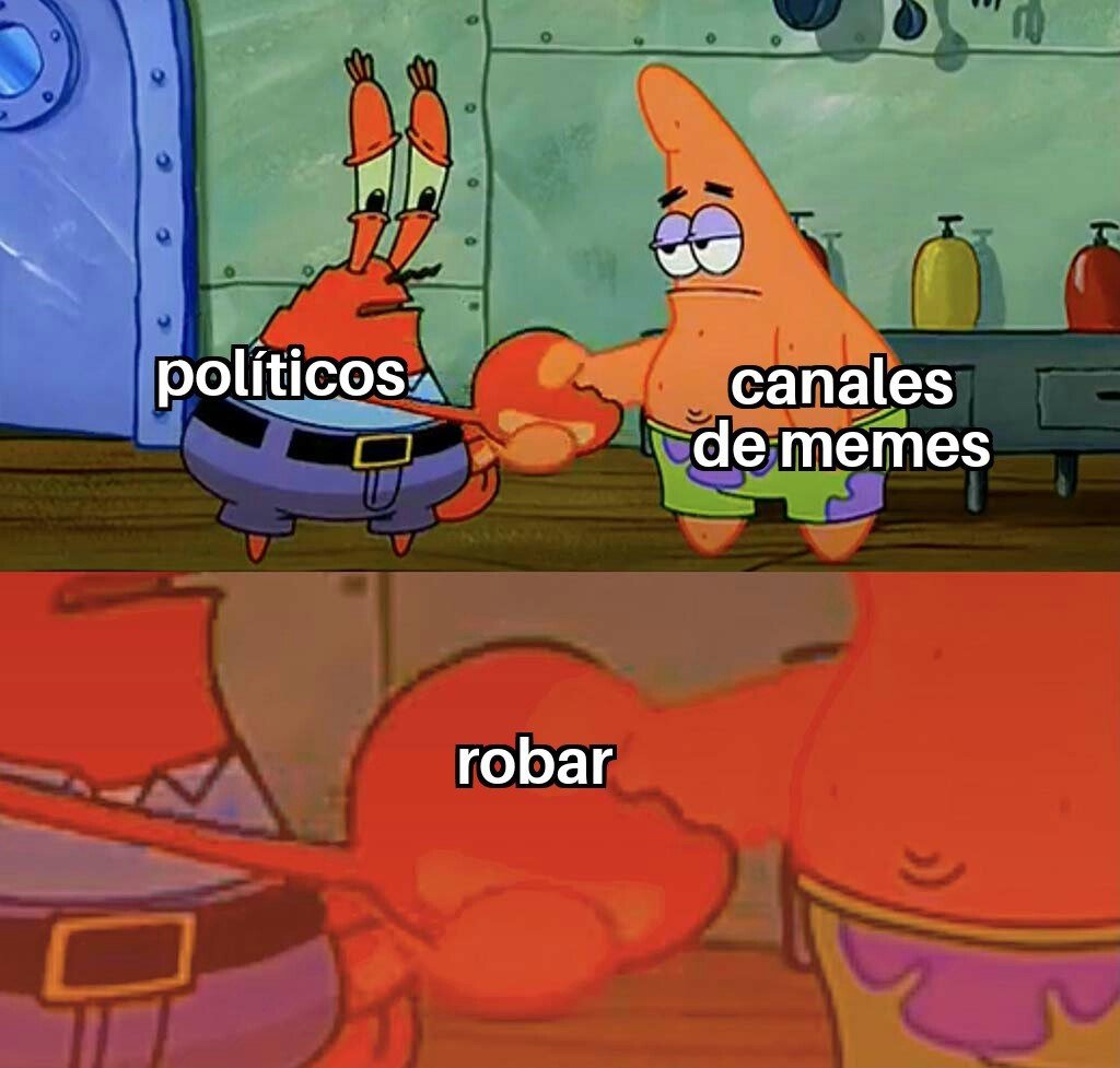 Robar - meme