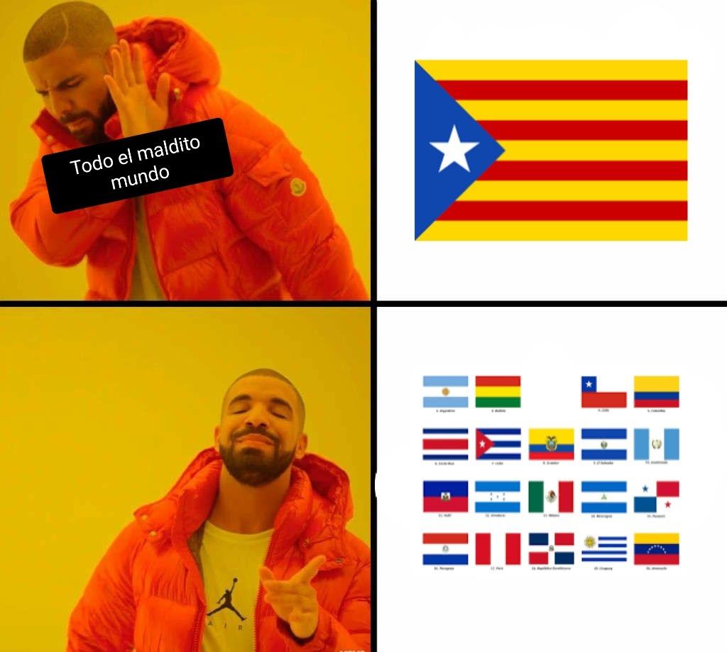 El titulo se independizó de España - meme