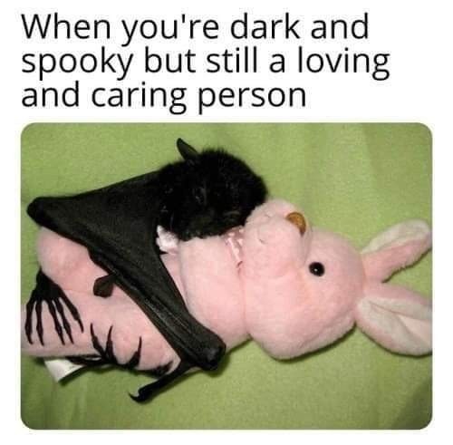*happy demon noises* - meme