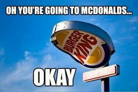 Sad Burger king - meme