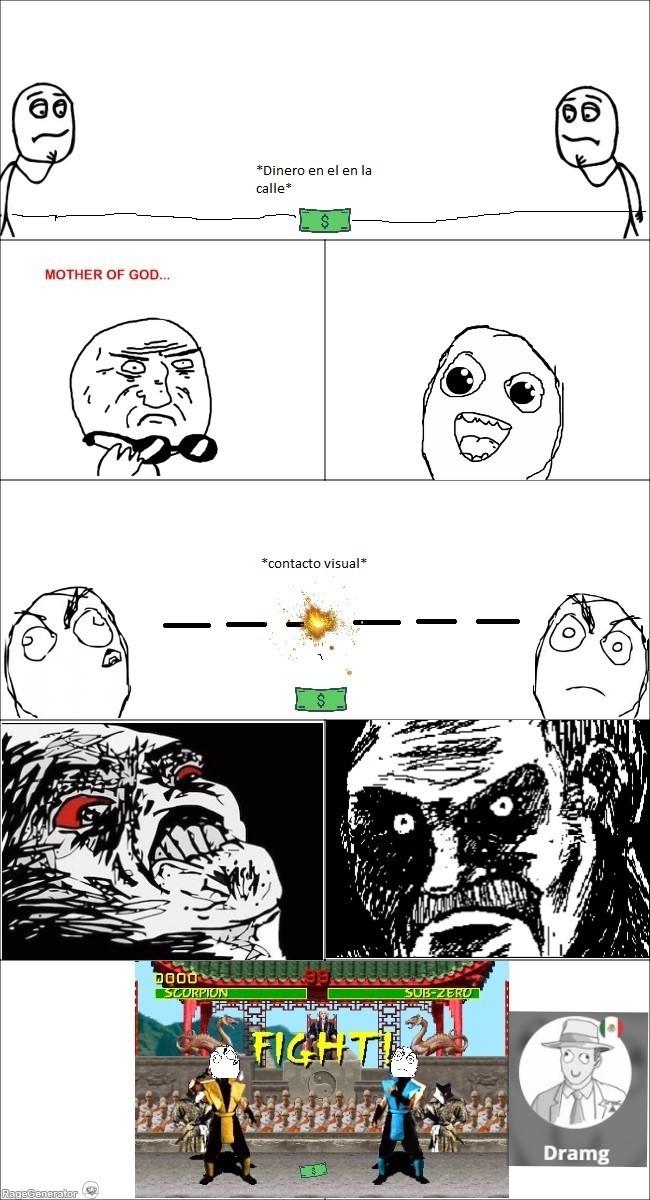 Rage comic original :D - meme