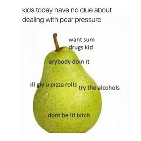 S/O To All My Pears - meme