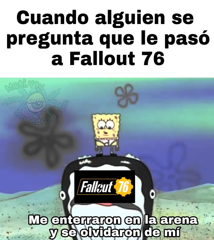 Pobre fallout - meme