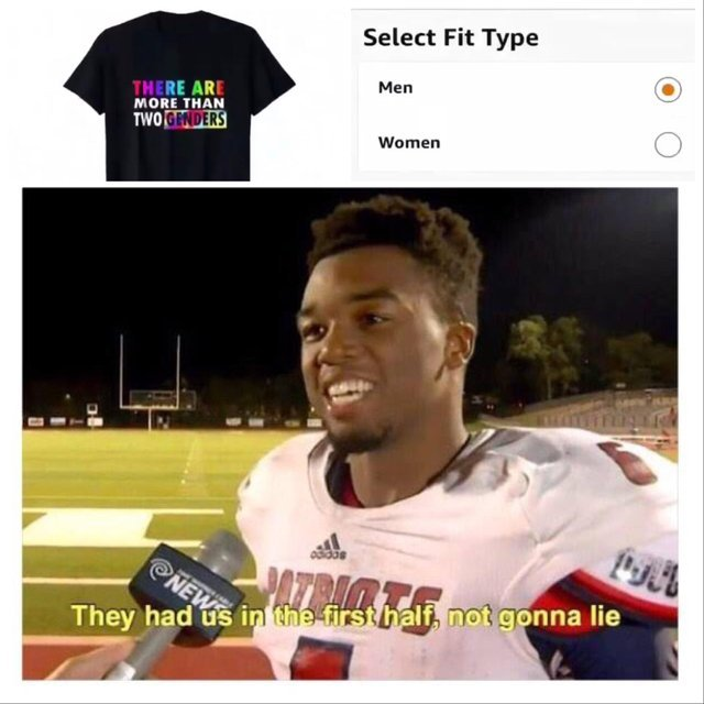 Please select your gender - meme