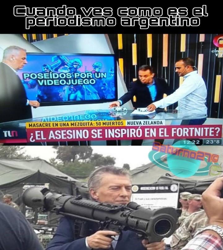 Mierda de periodismo - meme
