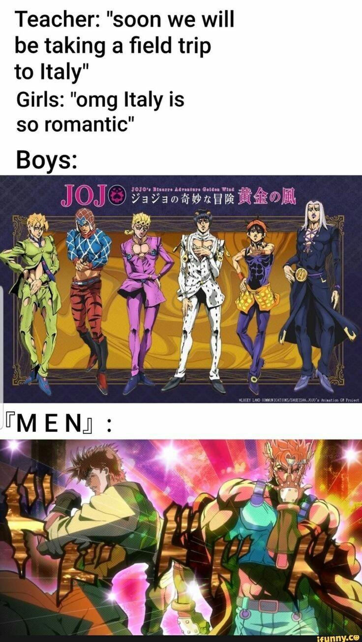 Jojo Italy - meme