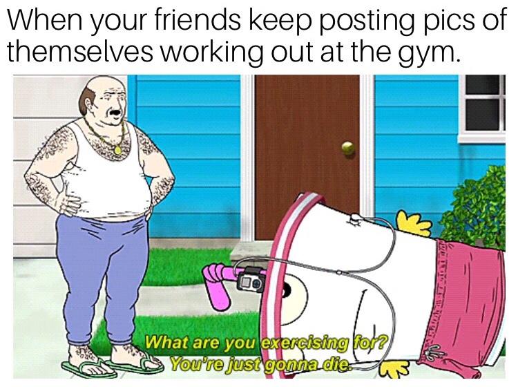 excercise - meme