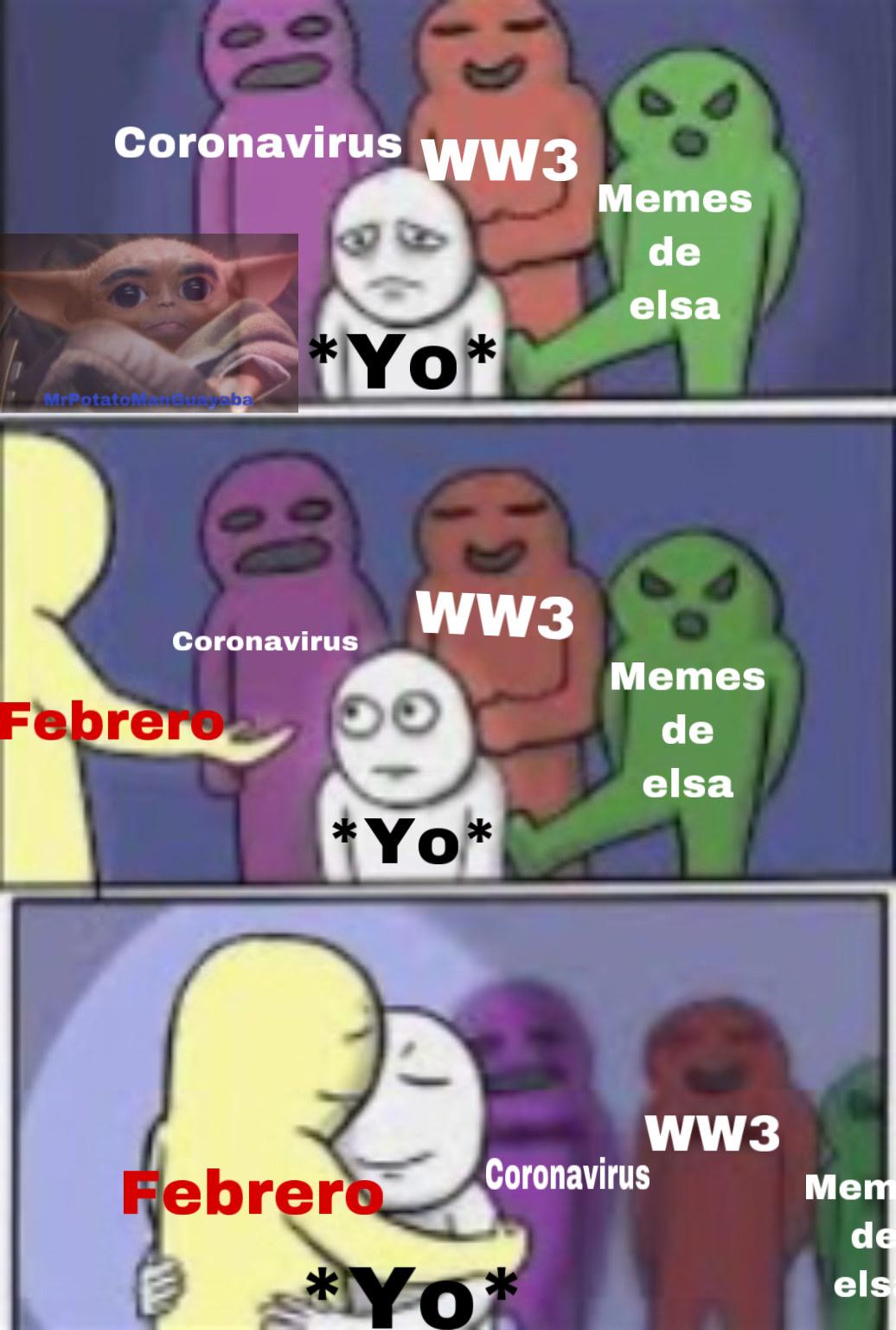 enero el mes mas largo de todos los años - meme