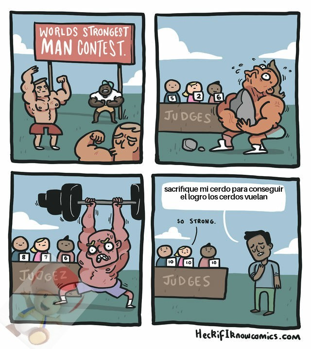 Es un verdadero hombre - meme