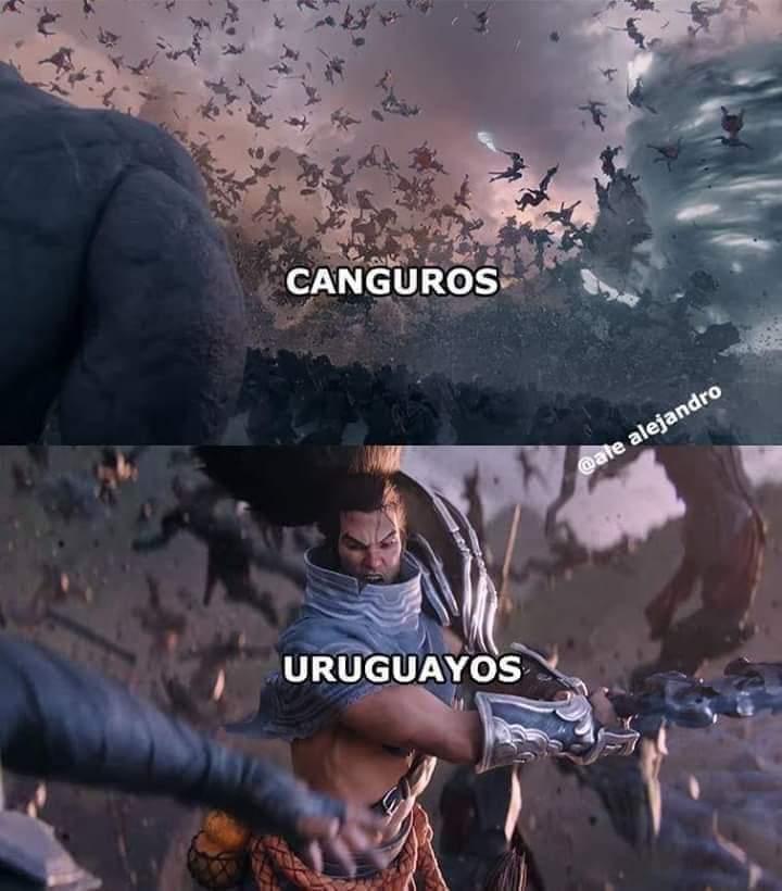 Preparense uruguayos - meme