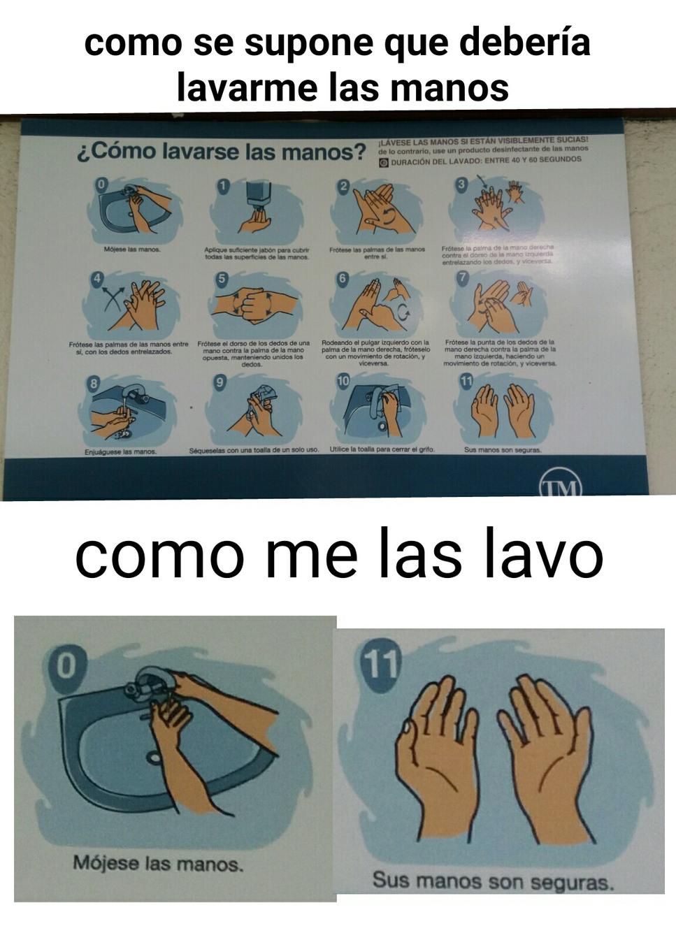 Higiene - meme