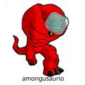 amongusaurio