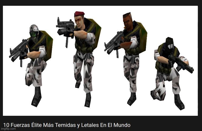 Para los que no entiendan son los soldados de half life - meme