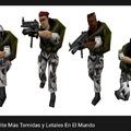 Para los que no entiendan son los soldados de half life