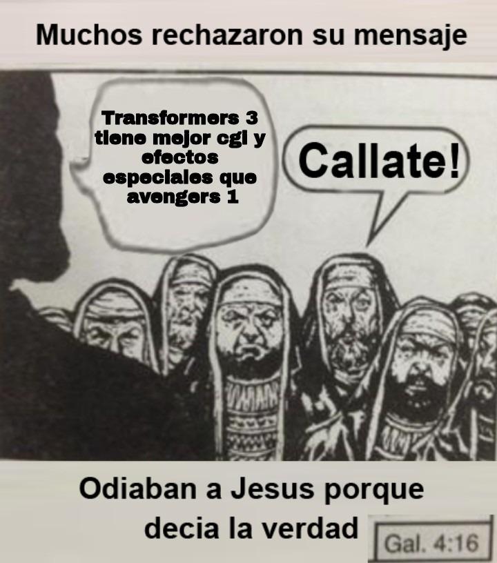 Jesus decia la verdad - meme