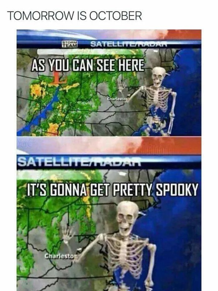 Spooky season! - meme