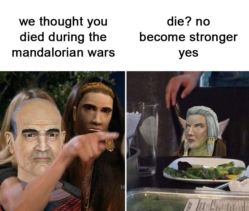Kotor 2 was amazing - meme