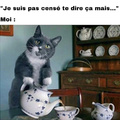 renverser le thé