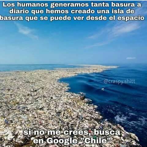 hay que cuidar el medio ambiente - meme