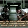 Pumpkin spice is upon us