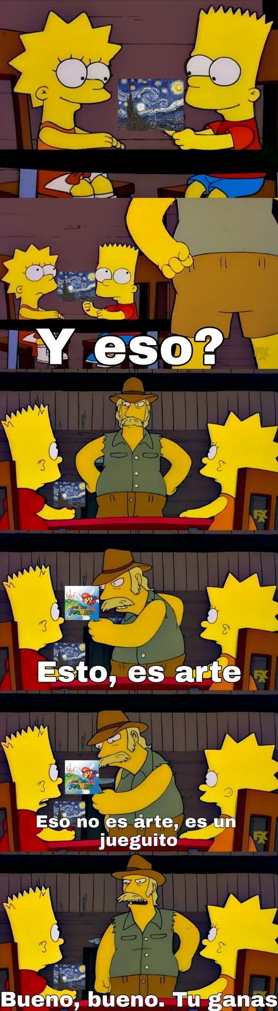 Videojuegos arte? - meme