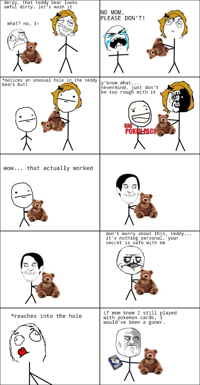 That's no ordinary teddy bear ( ͡° ͜ʖ ͡°) - meme