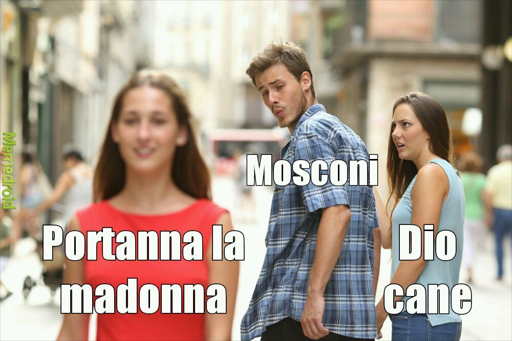 La madonma cane - meme