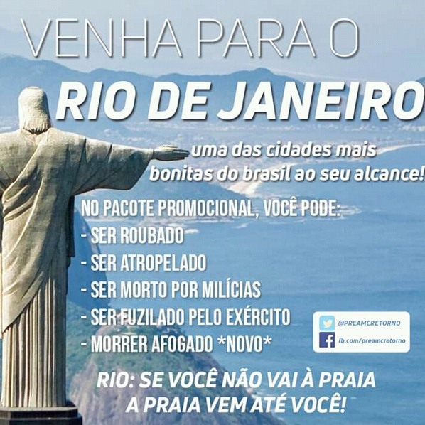 Rio de Janeiro - meme