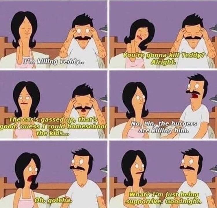 supportive Linda - meme