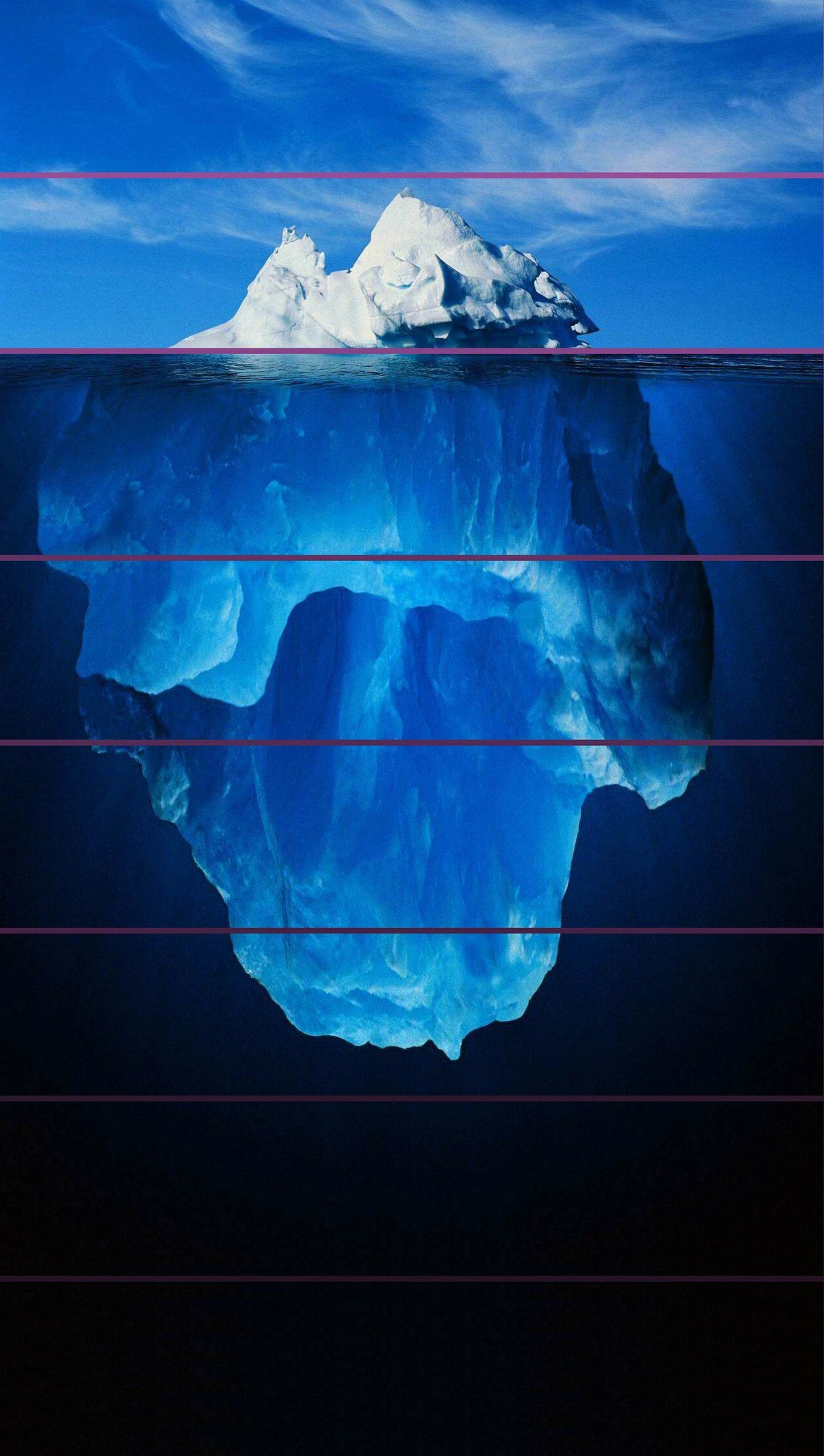 Plantilla gratis para hacer un iceberg - meme