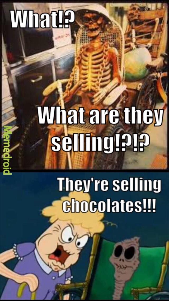 CHOCOLATE!!! - meme