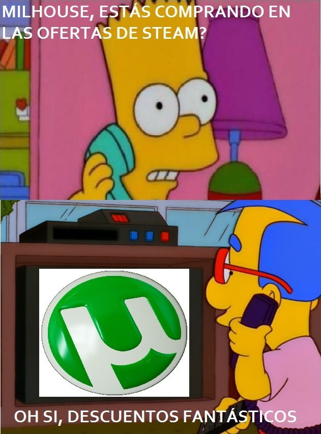Las estas viendo Milhouse?