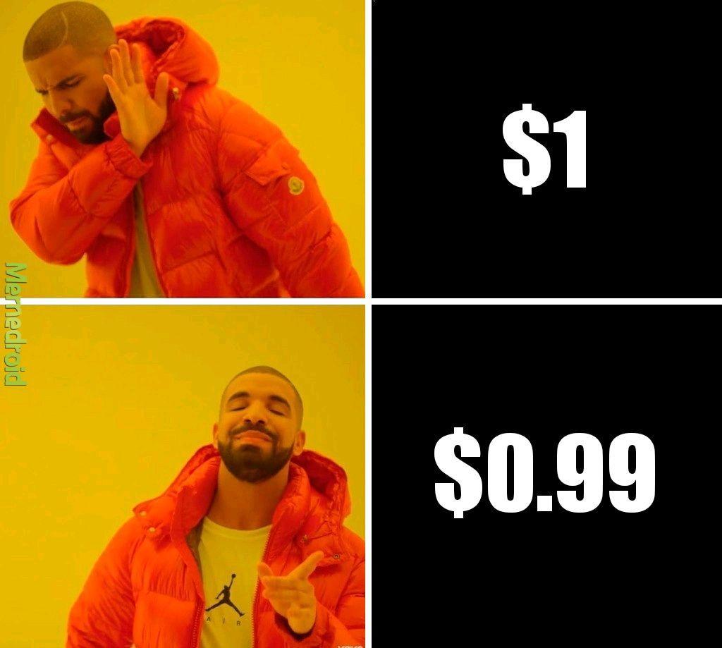 Los precios - meme