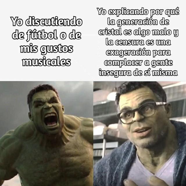 Meme de Hulk