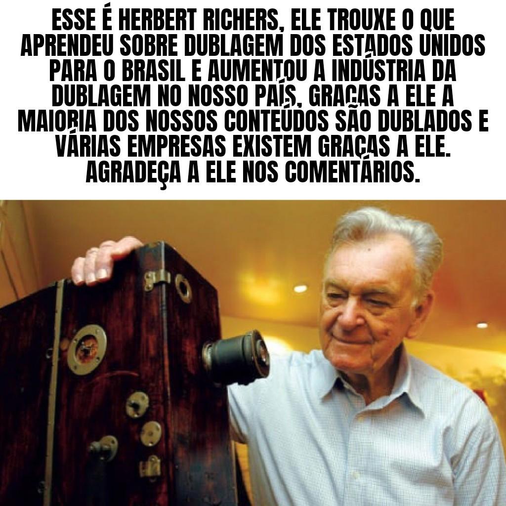 Versão brasileira: Herbert Richers - meme