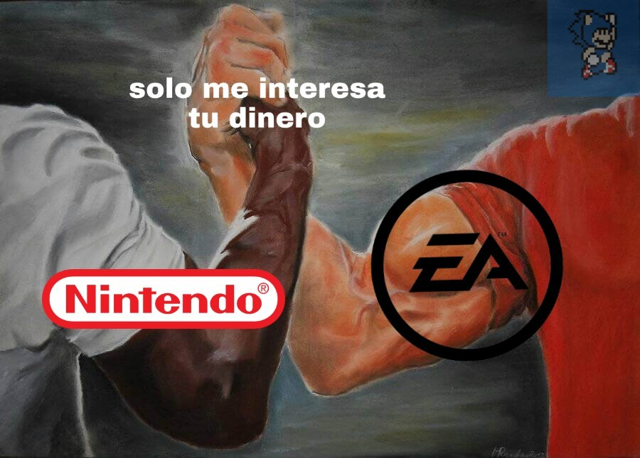 Solo se interesan por el dinero - meme