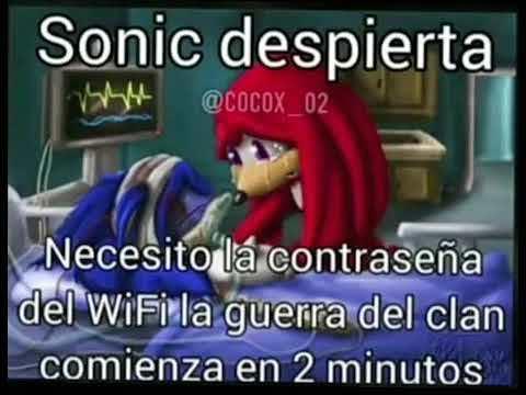 Sonic aweonao despierta - meme