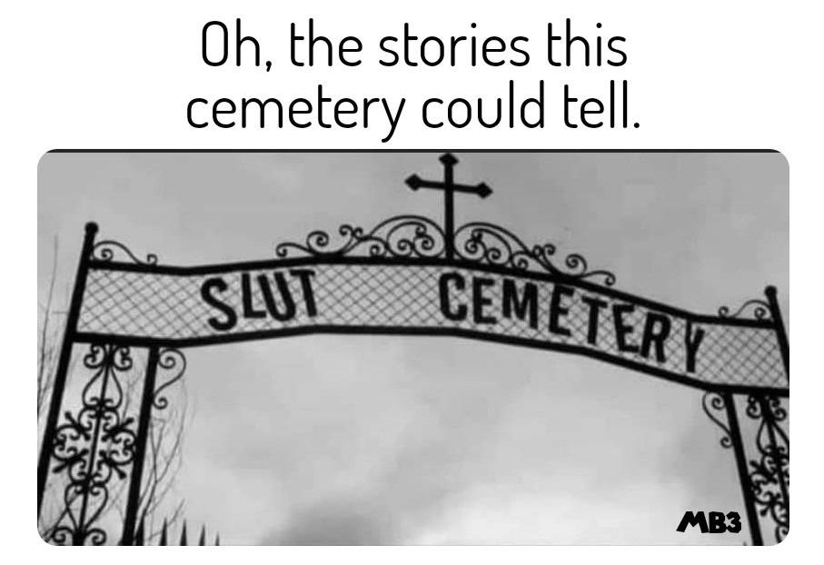 Cemetery - meme