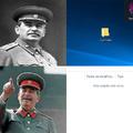 Stalin era el líder de la Unión Soviética, para los que viven debajo de una piedra.