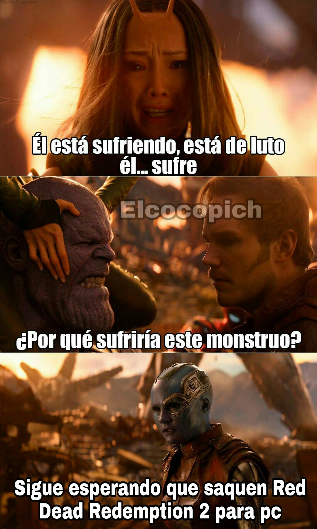 Los pc gamer lloramos - meme
