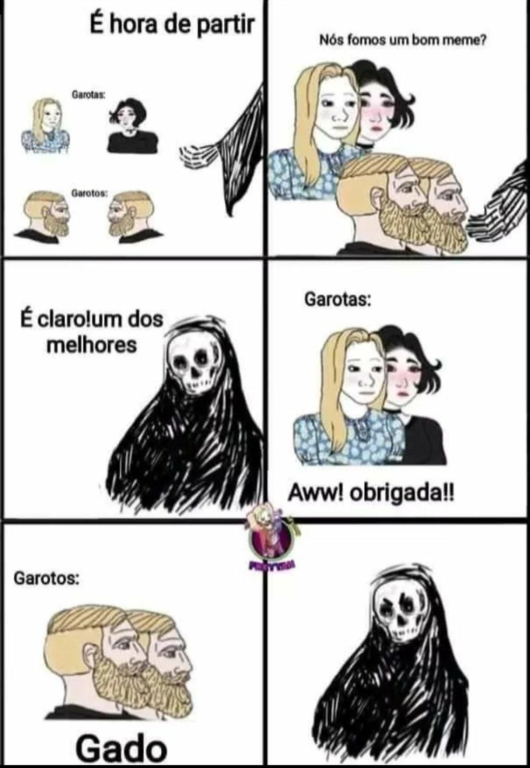 Gado. - meme