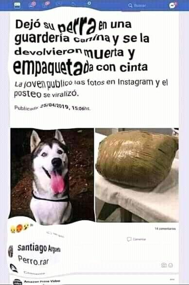 Perro.rar - meme