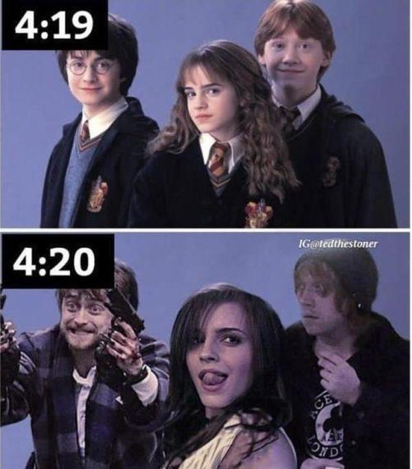 la magia del atraco - meme
