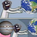 Meteoritos y Júpiter