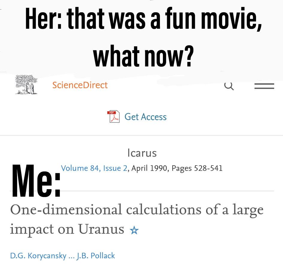 Gotta love physics - meme