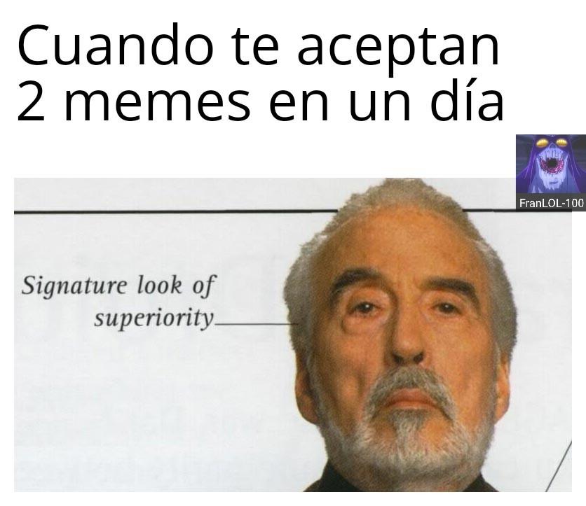 Basado en hechos reales - meme