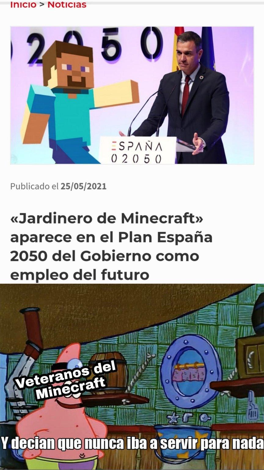 Adiós mami, me iré a España - meme