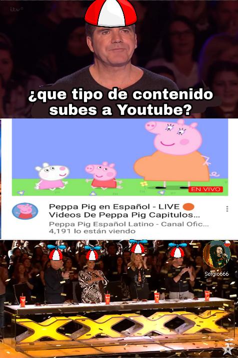 Peppa pig español latino recomendado - meme
